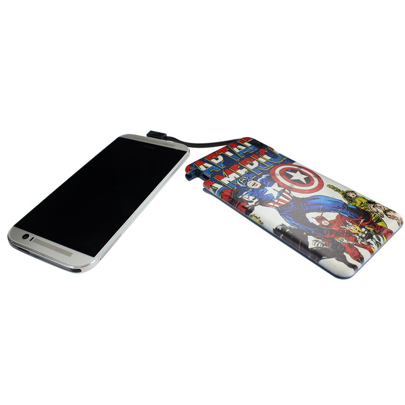 MARVEL Powerbank 6000mAh Captain America