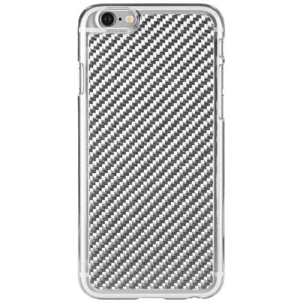 iDeal HardCover+ magnetskal för iPhone 6 / 6S - Carbon Silver