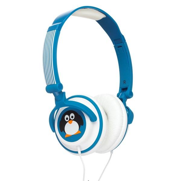 MYDOODLES Hörlur Pingvin Svart On-Ear 85dB
