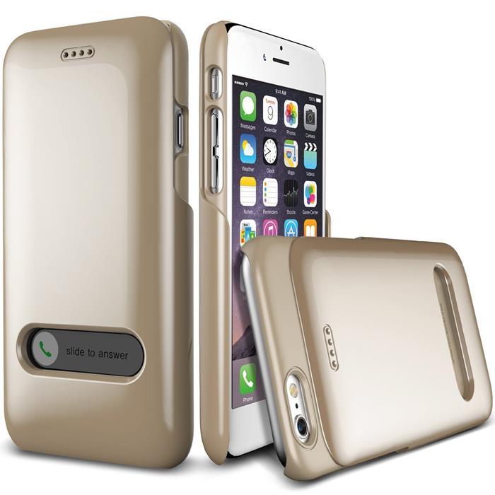 Verus Slim Slide Skal till Apple iPhone 6 / 6S - Gold