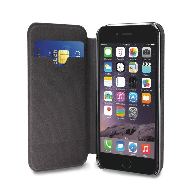 puro business iphone 6 6s pl nboksfodral i kta l der gr themobilestore. Black Bedroom Furniture Sets. Home Design Ideas