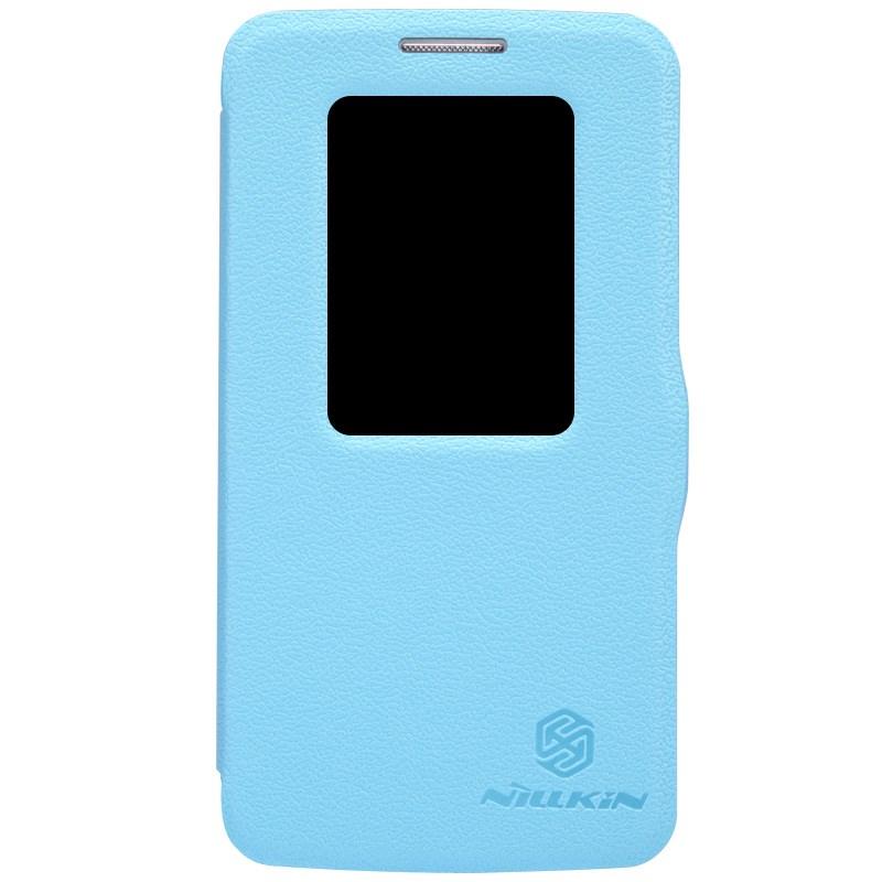 Nillkin Fresh Series S-View fodral till LG G2 Mini (Blå)