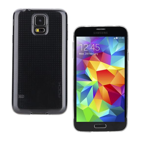 ROCK Zero Series till Samsung Galaxy S5 - Trans/Svart