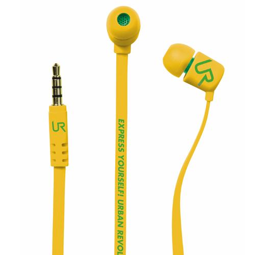 UrbanRevolt Headset DUGA In-Ear - Gul