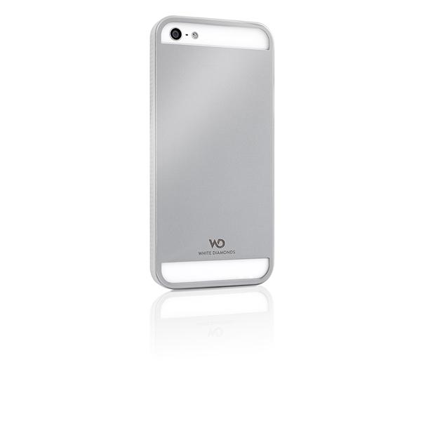 WHITE-DIAMONDS Metal Silver Apple iPhone 5/5S/SEPure Metal