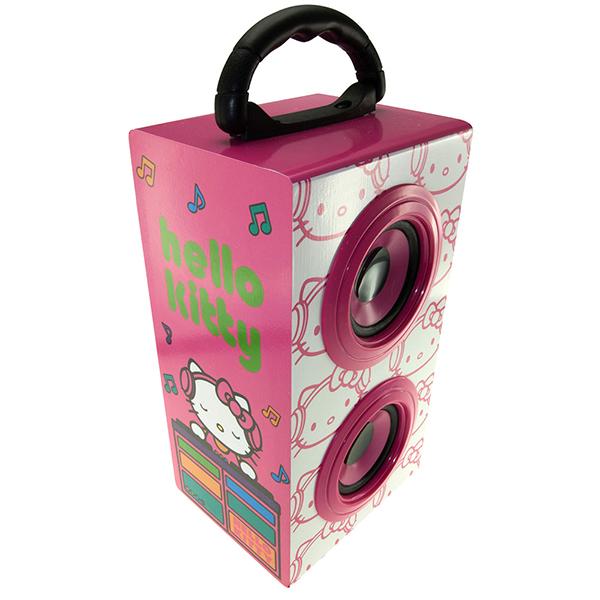 KITSOUND Partyhögtalare 3,5mm Hello Kitty 2x3W Batteri