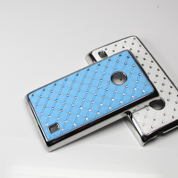 Diamante Skal till Nokia Lumia 520 (Ljus Blå)