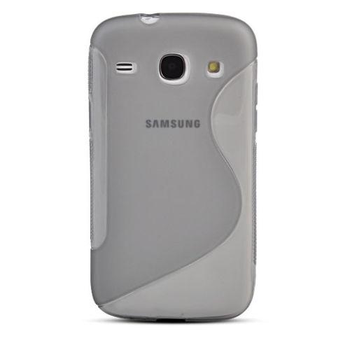 FlexiCase Skal till Samsung Galaxy Core Plus (Grå)