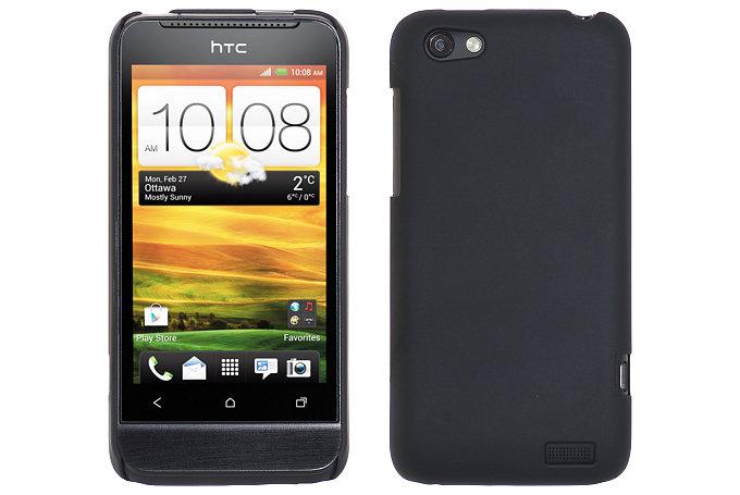 Baksideskal till HTC ONE V (Svart)