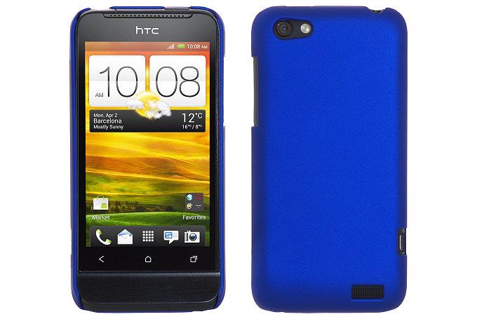 Baksideskal till HTC ONE V (Blå)