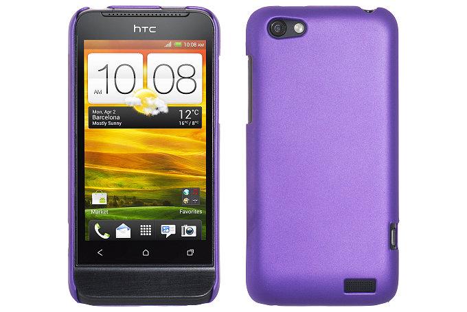 Baksideskal till HTC ONE V (Lila)