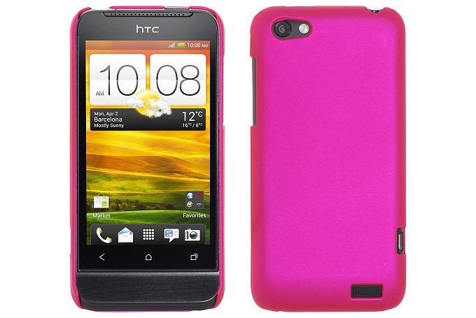 Baksideskal till HTC ONE V (Magenta)