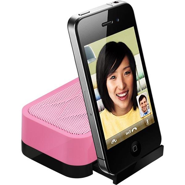 DIVOOM - portabel minihögtalare - Rosa (iFIT-1)