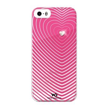 White Diamonds Heartbeat skal till Apple iPhone 5/5S/SE- Rosa