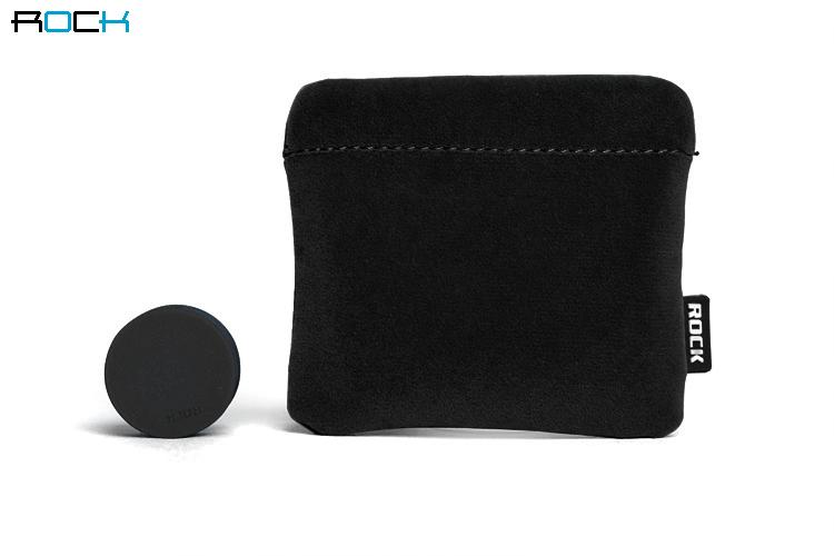 Rock Earphone Protection Set (Svart)