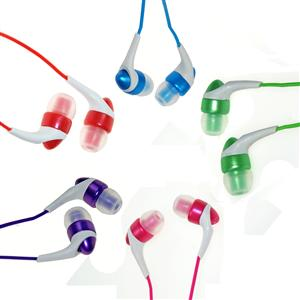 Maxell Colour Canalz in ear - (BLÅ)