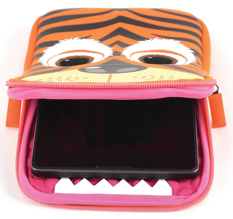 TabZoo Tablet Sleeve 7-8 tum - Tiger
