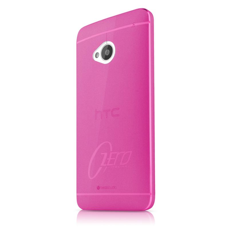 ITSkins Zero 3 Skal till HTC One (M7) (Magenta) + Skärmskydd