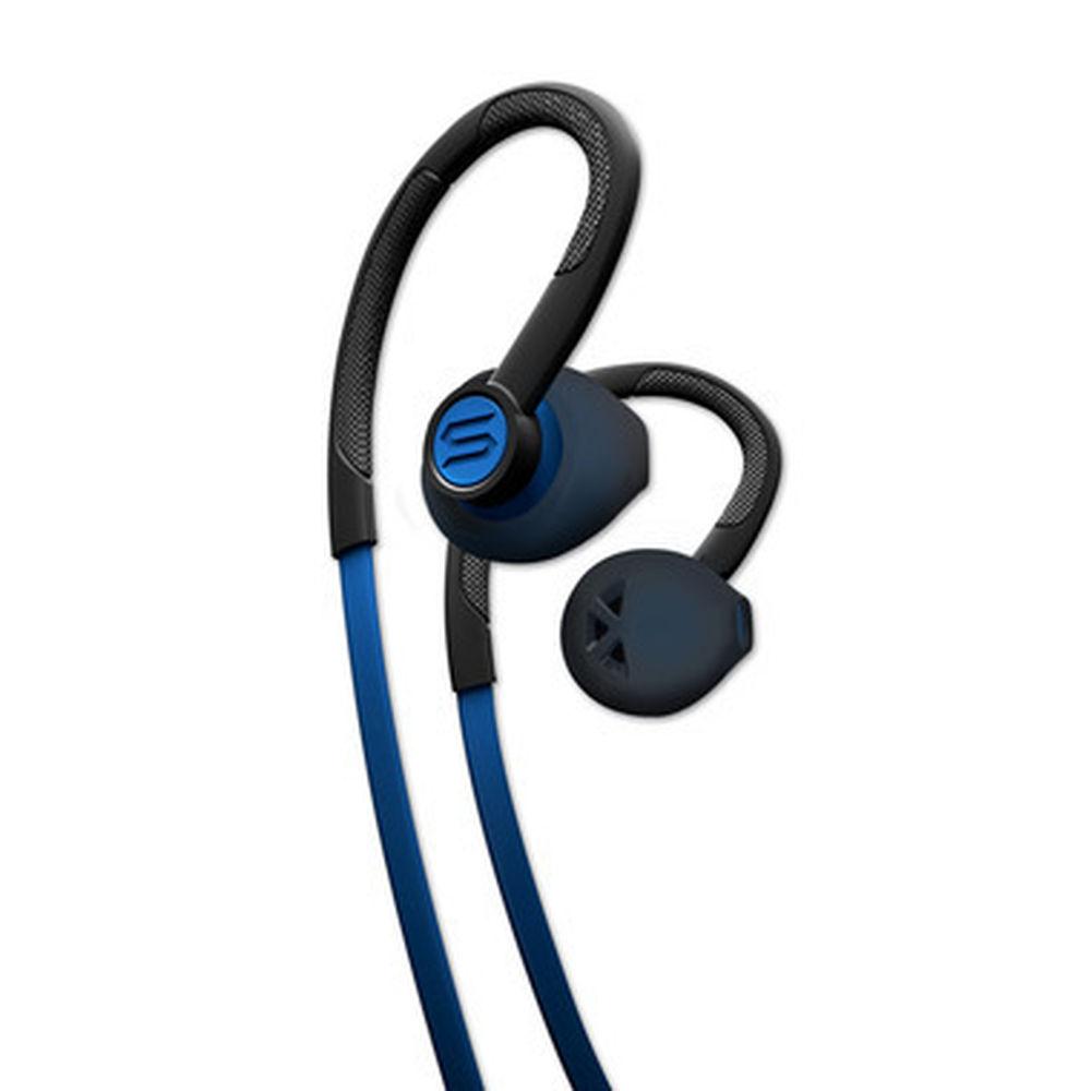 SOUL Flex Sport EarHook med mikrofon - Electric Blue