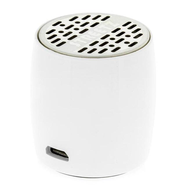 STREETZ Mini Bluetooth-högtalare - Vit