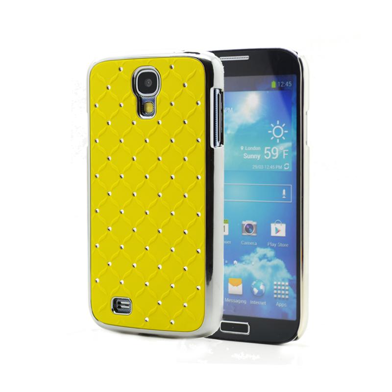 Diamante skal till Samsung Galaxy S4 i9500 - (Gul)