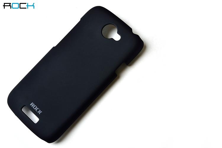 Rock NakedShell Skal till HTC ONE S (Svart) + HD Skärmskydd