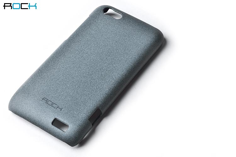 Rock Quicksand Skal till HTC ONE V (Grå)