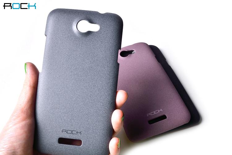Rock Quicksand Skal till HTC ONE S (Grå)