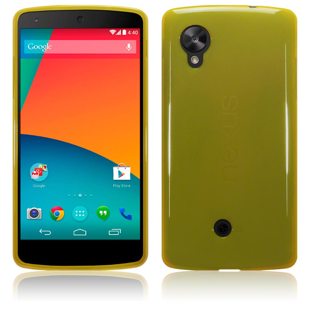 FlexiCase Skal till LG Nexus 5 (Gul)