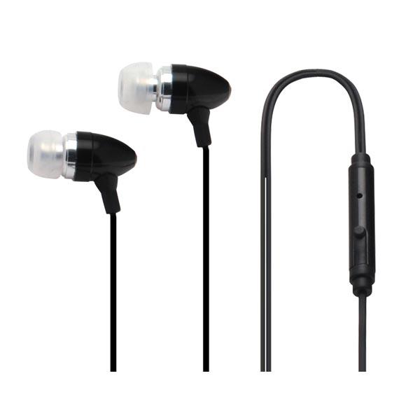 CellularLine Clear Music Headset med mic och svarsknapp - Svart