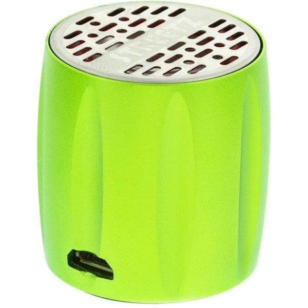 STREETZ Mini högtalare med inbyggt batteri Grön
