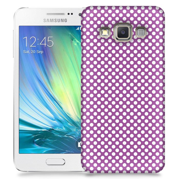 Skal till Samsung Galaxy A7 - PolkaDots