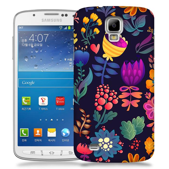 Skal till Samsung Galaxy S4 Active - Floral