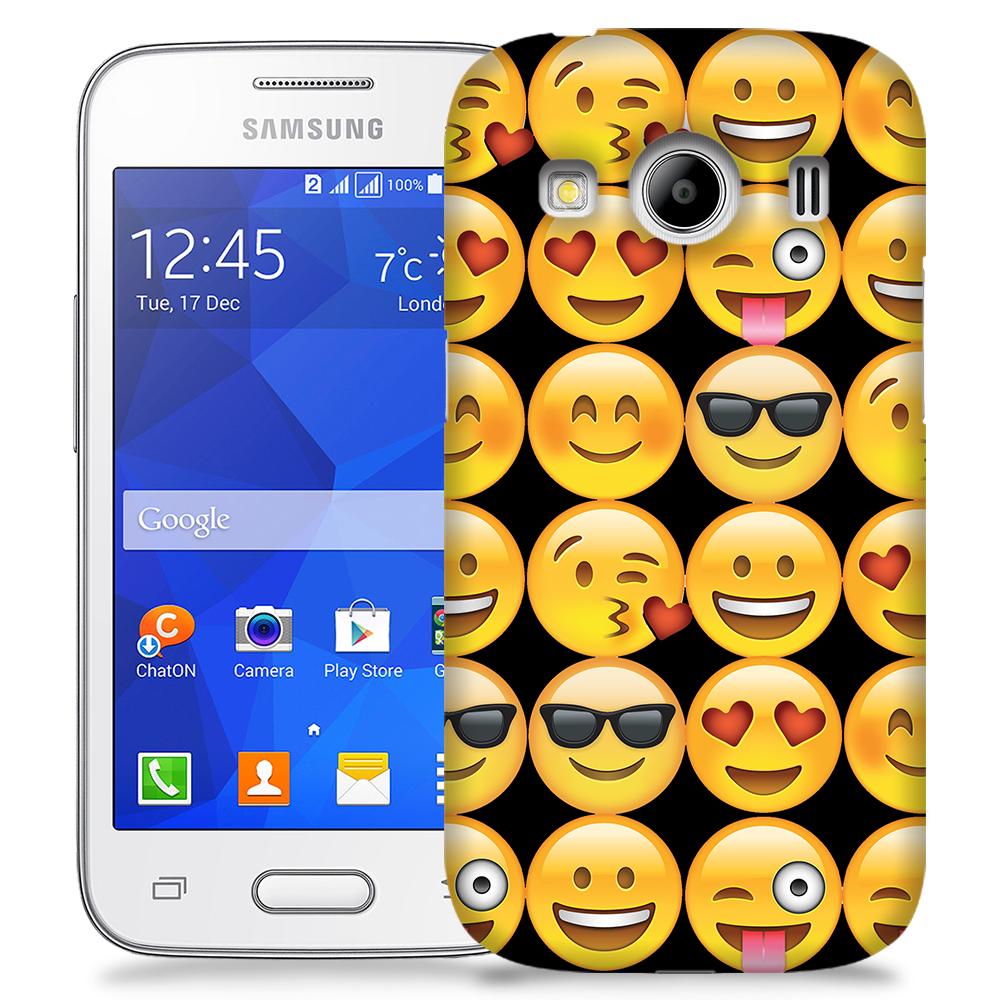 Skal till Samsung Galaxy Ace 4 - Emoji - Smileys