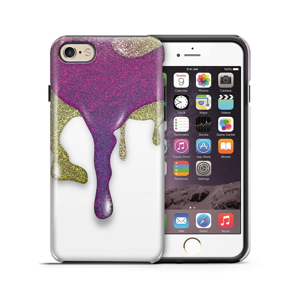 TheMobileStoreTough mobilskal till Apple iPhone 6(S) Plus - Glitter Paint