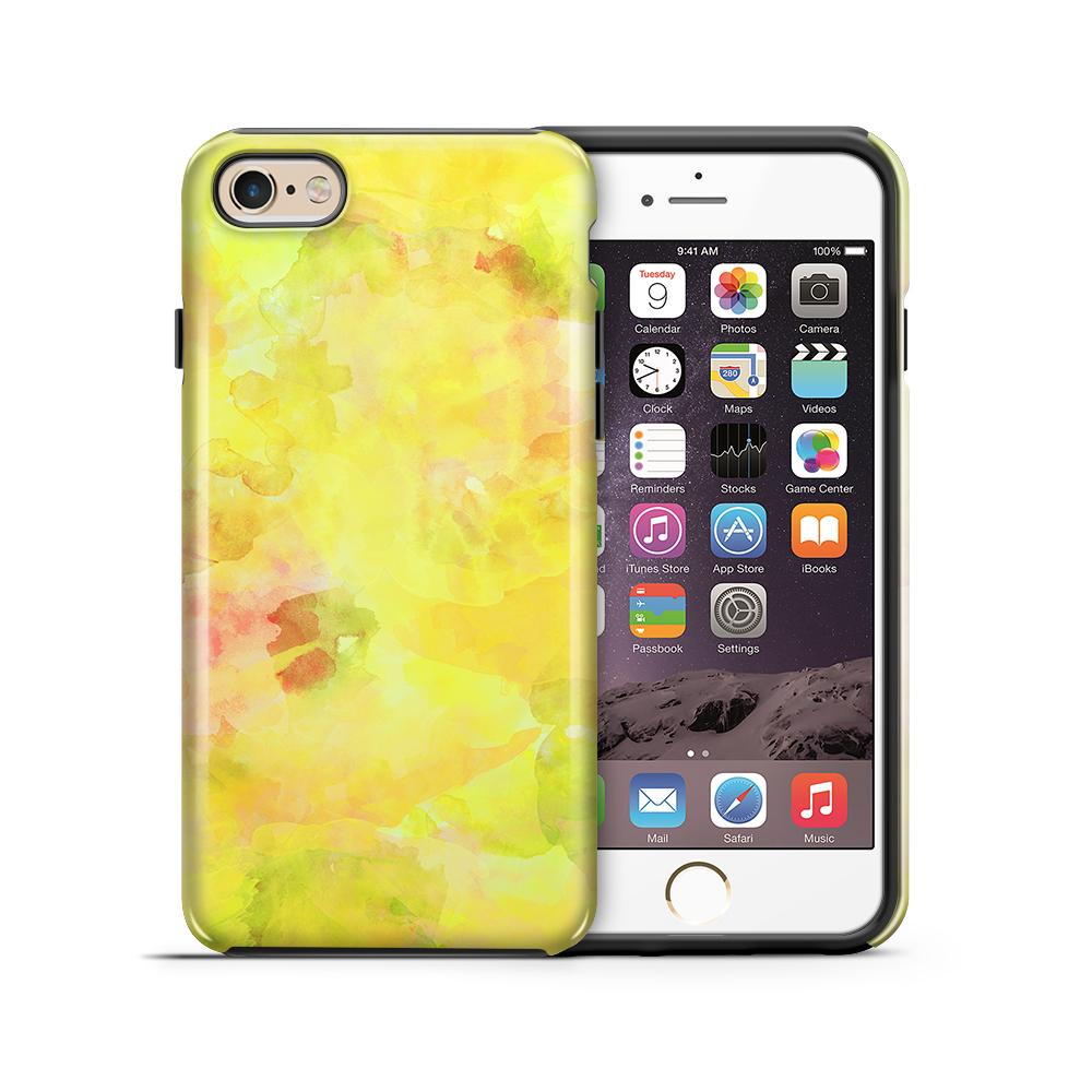 TheMobileStoreTough mobilskal till Apple iPhone 6(S) Plus - Vattenfärg - Gul