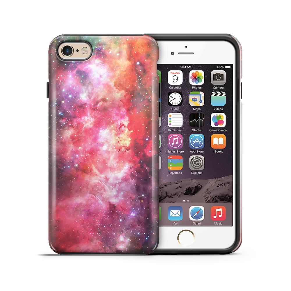 themobilestore-3Tough mobilskal till Apple iPhone 6(S) Plus - Rymden - Rosa