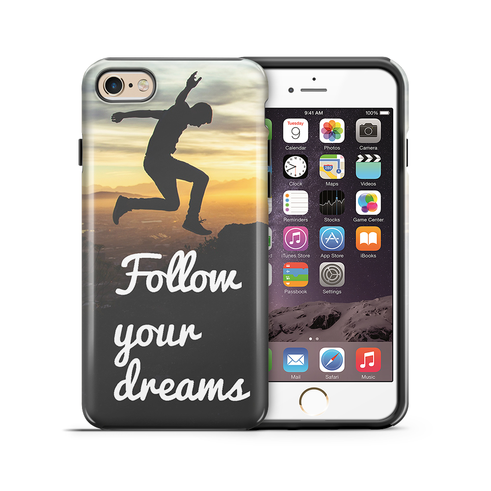 themobilestore-3Tough mobilskal till Apple iPhone 6(S) Plus - Follow Your Dreams