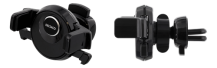 DeltacoDELTACO bilhållare för ventilationsgaller, smartphones 60-88mm, svart