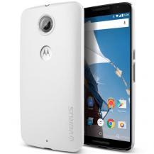 VERUSVerus Super Slim Baksideskal Skal till Google Nexus 6 - Vit