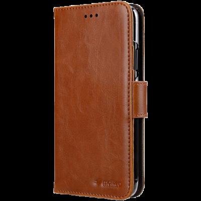 MELKCO Plånboksfodral iPhone 11 PRO MAX - Brun