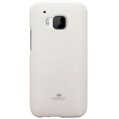 Mercury Jelly Flexicase Skal till HTC One M9 - Vit