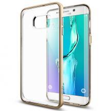 SpigenSPIGEN Neo Hybrid Crystal Skal till Samsung Galaxy S6 Edge Plus - Gold