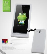 SeepooSeepoo Move Silikonskal till Sony Xperia U + Skärmskydd (Vit)
