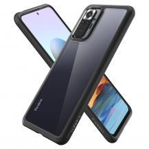 SpigenSpigen - Ultra Hybrid Mobilskal Xiaomi Redmi Note 10 Pro - Matt Svart