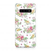 TheMobileStore Slim CasesDesigner Skal till Samsung Galaxy S10 - Pat2069