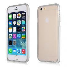 BASEUSBASEUS Fusion Combo Skal till Apple iPhone 6 / 6S - Silver