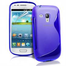 OEMFlexiCase Skal till Samsung Galaxy S3 Mini i8190 - (Blå)