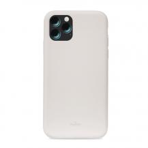 PuroPuro iPhone 11 Pro Max, Icon Cover, Ljusgrå