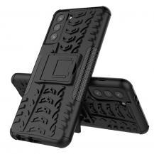 A-One BrandTyre Kick-Stand Mobilskal till Galaxy S21 Plus - Svart